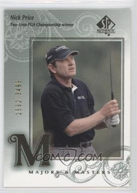 2002 SP Authentic #132 - Nick Price /3499