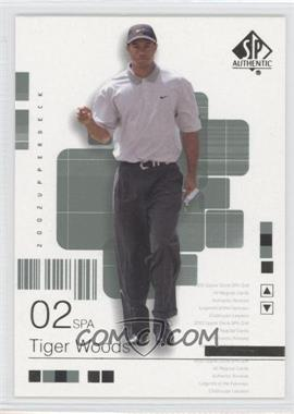 2002 SP Authentic #1SPA - Tiger Woods