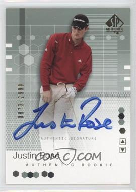 2002 SP Authentic #95SPA - Justin Rose /2999