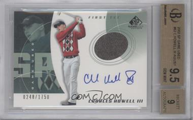 2002 SP Game Used Edition - [Base] #62 - Charles Howell III /1750 [BGS9.5]