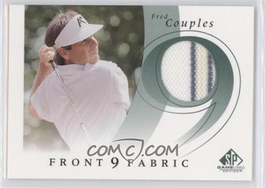 2002 SP Game Used Edition - Front 9 Fabric #F9S-FC - Fred Couples