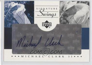 2002 SP Game Used Edition - Signature Swings #SS-CL - Michael Clark II