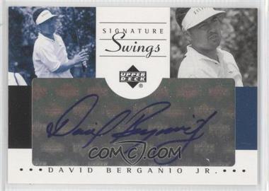 2002 SP Game Used Edition - Signature Swings #SS-DB - David Berganio Jr.