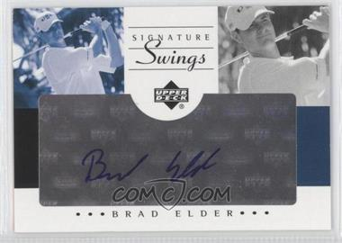 2002 SP Game Used Edition [???] #SS-BE - Brad Elder