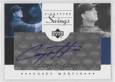 2002 SP Game Used Edition [???] #SS-MA - Casey Martin