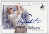 Rory Sabbatini
