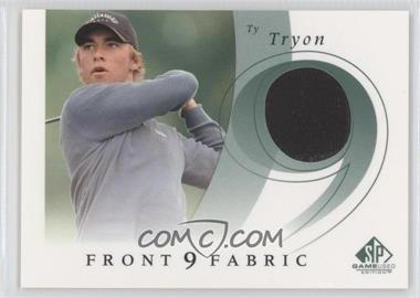 2002 SP Game Used Edition Front 9 Fabric #F9S-TT - Ty Tryon