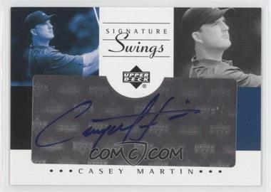2002 SP Game Used Edition Signature Swings #SS-MA - Casey Martin