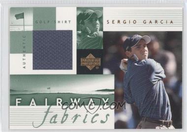2002 Upper Deck - Fairway Fabrics #SG-FF - Sergio Garcia
