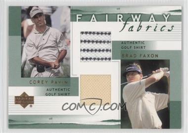 2002 Upper Deck Fairway Fabrics Combo #PF-FFC - [Missing]