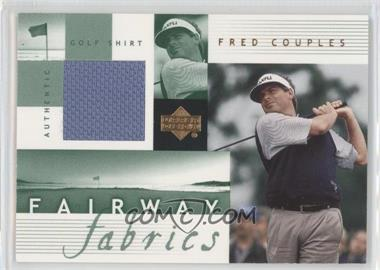 2002 Upper Deck Fairway Fabrics #FC-FF - Fred Couples