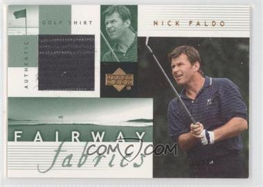 2002 Upper Deck Fairway Fabrics #NF-FF - Nick Faldo