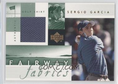 2002 Upper Deck Fairway Fabrics #SG-FF - Sergio Garcia