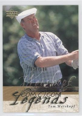 2002 Upper Deck Gold #57 - Tom Weiskopf /100