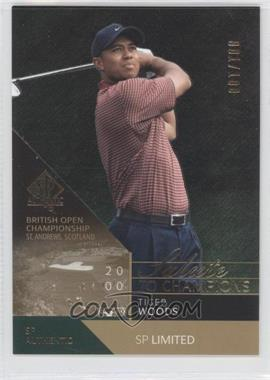 2003 SP Authentic - [Base] - Limited #96SPA - Tiger Woods /100