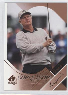 2003 SP Authentic [???] #35 - Jack Nicklaus