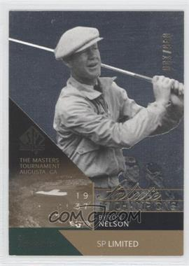 2003 SP Authentic [???] #73SPA - Byron Nelson /100