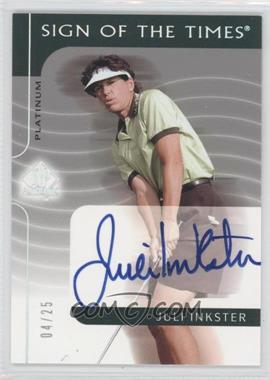 2003 SP Authentic [???] #JI - Juli Inkster /25