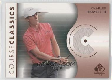 2003 SP Authentic Course Classics Golf Shirts #CC-CH - Charles Howell III