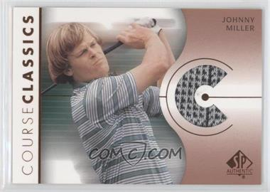 2003 SP Authentic Course Classics Golf Shirts #CC-JM - Johnny Miller