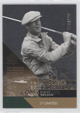 2003 SP Authentic Limited #73SPA - Byron Nelson /100