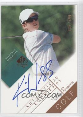 2003 SP Authentic #108 - Karrie Webb
