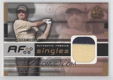 2003 SP Game Used Edition - Authentic Fabrics Singles #AF-JK - Jerry Kelly