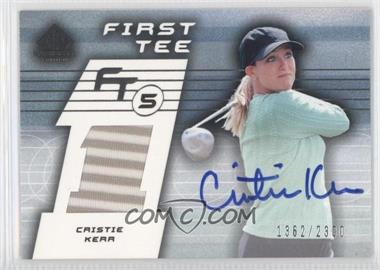 2003 SP Game Used Edition - [Base] #65 - Cristie Kerr /2300
