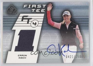 2003 SP Game Used Edition [???] #74 - Carin Koch /1500