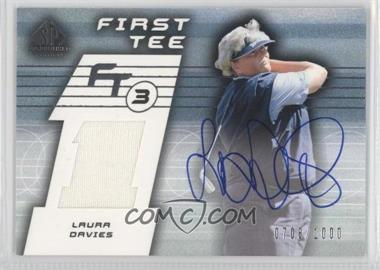 2003 SP Game Used Edition [???] #77 - Laura Davies /1000