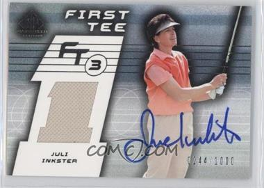 2003 SP Game Used Edition [???] #78 - Juli Inkster /1000