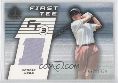 2003 SP Game Used Edition [???] #79 - Karrie Webb /1000
