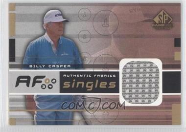 2003 SP Game Used Edition [???] #AF-BC - Billy Casper