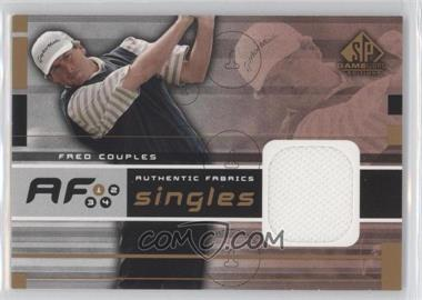 2003 SP Game Used Edition [???] #AF-FC - Fred Couples