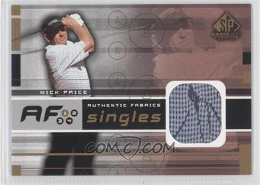 2003 SP Game Used Edition [???] #AF-NP - Nick Price