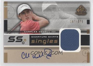 2003 SP Game Used Edition [???] #F9S-CH - Charles Howell III /375