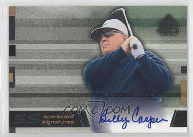 2003 SP Game Used Edition [???] #SS-BC - Billy Casper