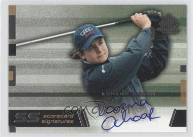 2003 SP Game Used Edition [???] #SS-LO - Lorena Ochoa