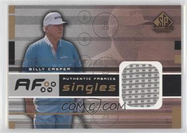 2003 SP Game Used Edition Authentic Fabrics Singles #AF-BC - Billy Casper