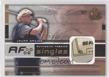 2003 SP Game Used Edition Authentic Fabrics Singles #AF-DA - Laura Davies