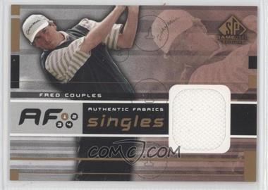 2003 SP Game Used Edition Authentic Fabrics Singles #AF-FC - Fred Couples
