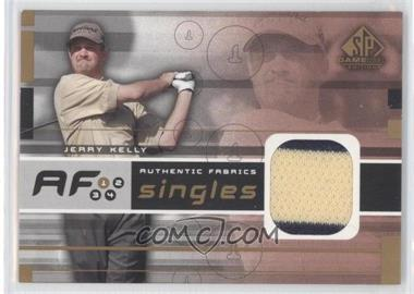2003 SP Game Used Edition Authentic Fabrics Singles #AF-JK - Jerry Kelly