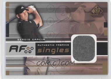 2003 SP Game Used Edition Authentic Fabrics Singles #AF-SG - Sergio Garcia