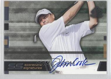 2003 SP Game Used Edition Scorecard Signatures #SS-JC - John Cook