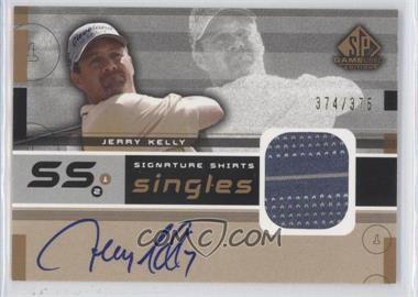 2003 SP Game Used Edition Signature Shirts Singles #F9S-JK - Jerry Kelly /375