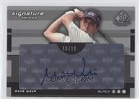 Black 3 - Mike Weir /18