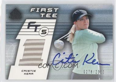 2003 SP Game Used Edition #65 - Cristie Kerr /2300