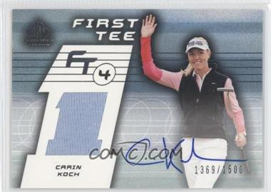 2003 SP Game Used Edition #74 - Carin Koch /1500