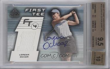 2003 SP Game Used Edition #75 - Lorena Ochoa /1500 [BGS 9.5]