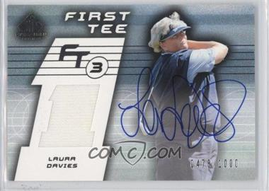 2003 SP Game Used Edition #77 - Laura Davies /1000